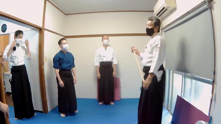 合氣柔術 稽古風景 無限道場 - Aikijujutsu -